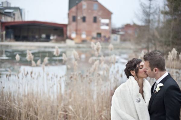 Make your day more memorable at Evergreen Brick Works. Our natural setting is perfect for your wedding and wedding photos.